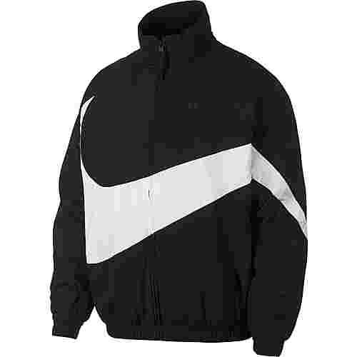 Nike NSW Nylonjacke Herren black-white-black
