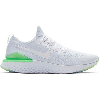purchase cheap 00d7a c6d6a Nike EPIC REACT FLYKNIT 2 Laufschuhe Herren white-white-lime blast