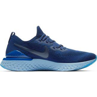 best sneakers b4b1d 0404a Nike EPIC REACT FLYKNIT 2 Laufschuhe Herren blue void-blue void-indigo  force-
