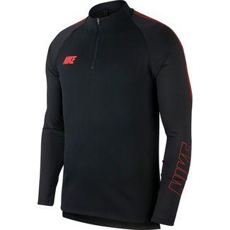 Nike Squad Funktionsshirt Herren black-ember glow-ember glow