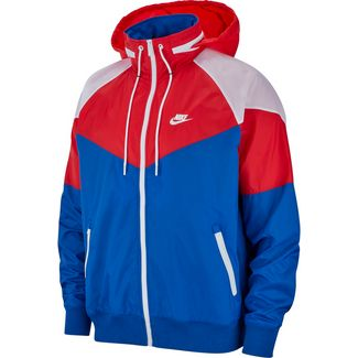 brand new cf7ec 09c6f Nike NSW Windrunner Nylonjacke Herren indigo force-university red