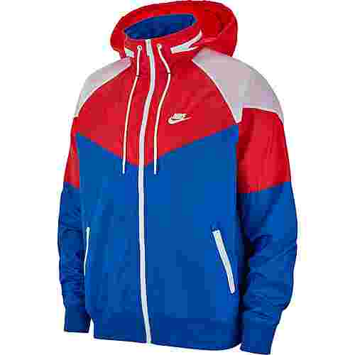Nike NSW Windrunner Nylonjacke Herren indigo force-university red