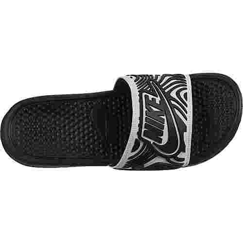 Nike Benassi JDI SE Sandalen Herren white-black