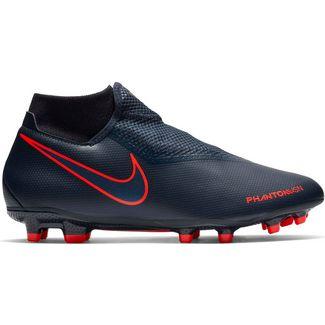 Nike PHANTOM VSN ACADEMY DF FG/MG Fußballschuhe obsidian-black bright crimpson