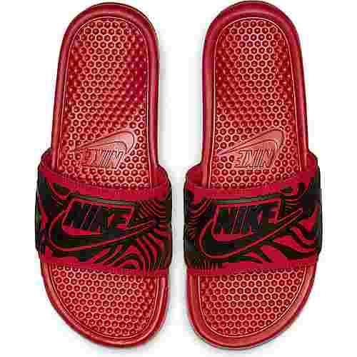 Nike Benassi JDI SE Sandalen Herren gym red-black-black