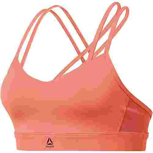 Reebok Hero Strappy Sport-BH Damen stellar pink