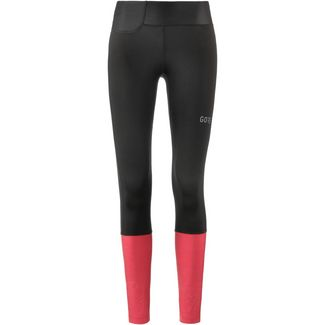GORE® WEAR R3 Lauftights Damen black-hibiscus pink