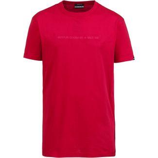 Napapijri Sakat T-Shirt Herren cherry red