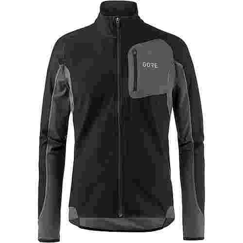 GORE® WEAR R3 Partial WINDSTOPPER® GORE-TEX® Laufjacke Herren black-terra grey