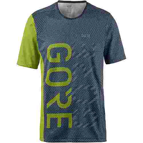 GORE® WEAR M Brand GORE-TEX® Funktionstank Herren deep water blue-citrus green