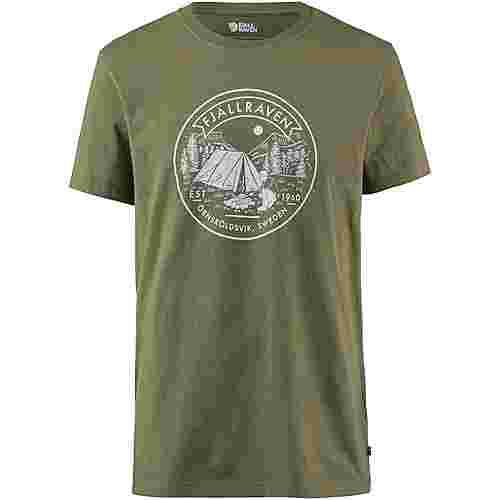 FJÄLLRÄVEN Lägerplats T-Shirt Herren green