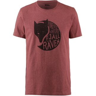 FJÄLLRÄVEN Forever Nature T-Shirt Herren red oak