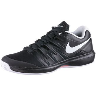 Nike AIR ZOOM PRESTIGE CLY Tennisschuhe Herren black-white-bright crimson