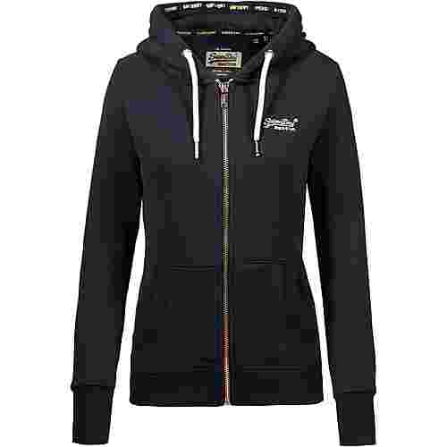 Superdry Orange Label Elite Sweatjacke Damen elite navy