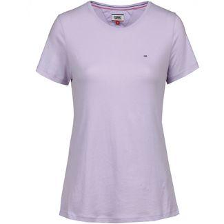 Tommy Jeans T-Shirt Damen pastel lilac
