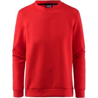 Jack Wolfskin 365 SPACER Sweatshirt Herren peak red