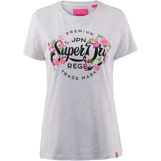 Superdry T-Shirt Damen ice marl