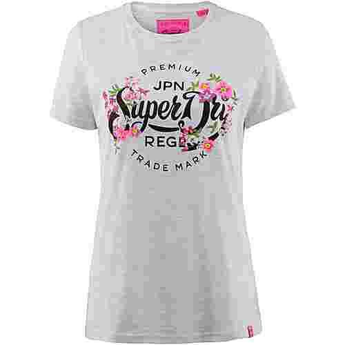 Superdry T-Shirt Damen ice marl