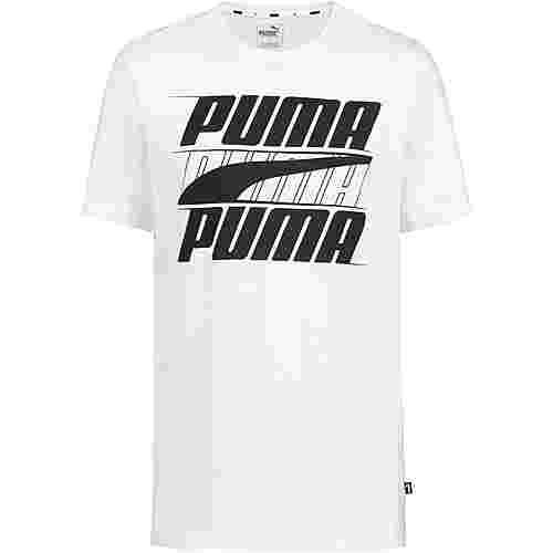 PUMA Rebel T-Shirt Herren puma white