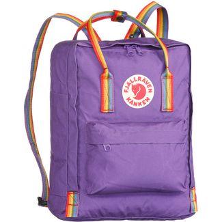 FJÄLLRÄVEN Rucksack Kånken Rainbow Daypack purple-rainbow pattern