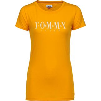Tommy Jeans Casual Tommy T-Shirt Damen radiant yellow