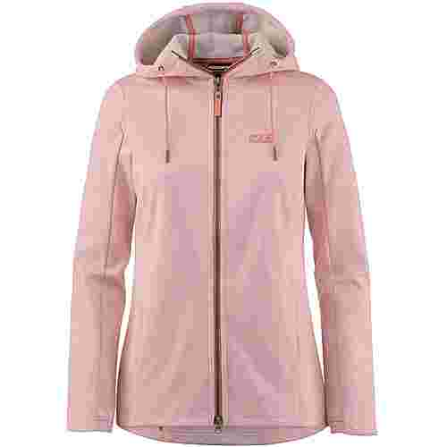 Jack Wolfskin RIVERLAND Fleecejacke Damen rose quartz