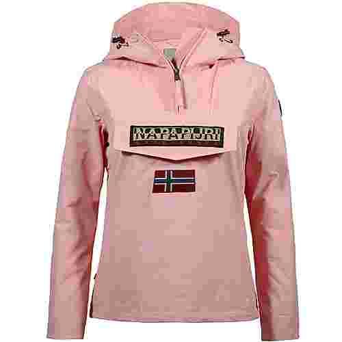 Napapijri Rainforest Windbreaker Damen pale pink new