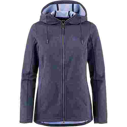 Jack Wolfskin RIVERLAND Fleecejacke Damen midnight blue