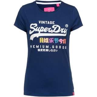 Superdry T-Shirt Damen supermarine navy