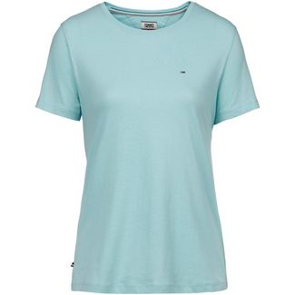 Tommy Jeans T-Shirt Damen canal blue