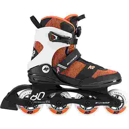 K2 ALEXIS 80 BOA Fitness Skates Damen orange-schwarz