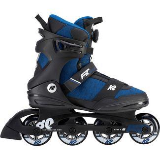 K2 F.I.T. 80 BOA Fitness Skates Herren blau-schwarz