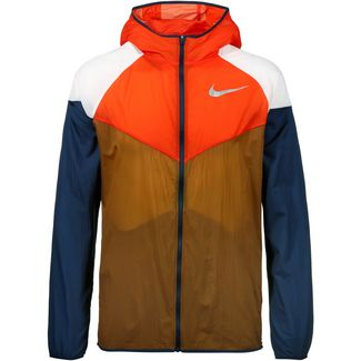 Nike Windrunner Laufjacke Herren ale brown-team orange-obsidian-reflective silv