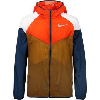 76d3141c095 Nike Windrunner Laufjacke Herren ale brown-team orange-obsidian-reflective  silv