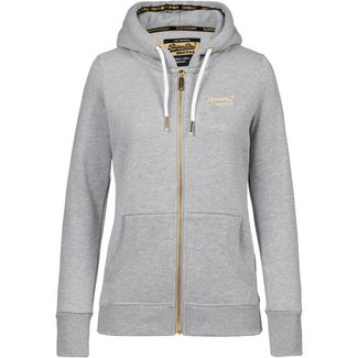 Superdry Orange Label Elite Sweatjacke Damen elite grey marl