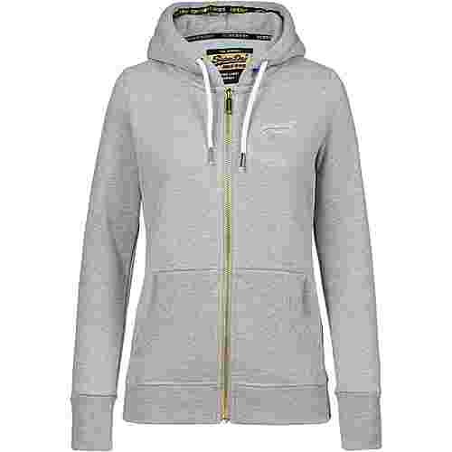 Superdry Orange Label Elite Sweatjacke Damen elite grey marl