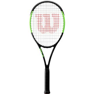 Wilson Blade Team Tennisschläger black-lime green