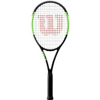 Wilson Blade Team Tennisschläger black-lime green