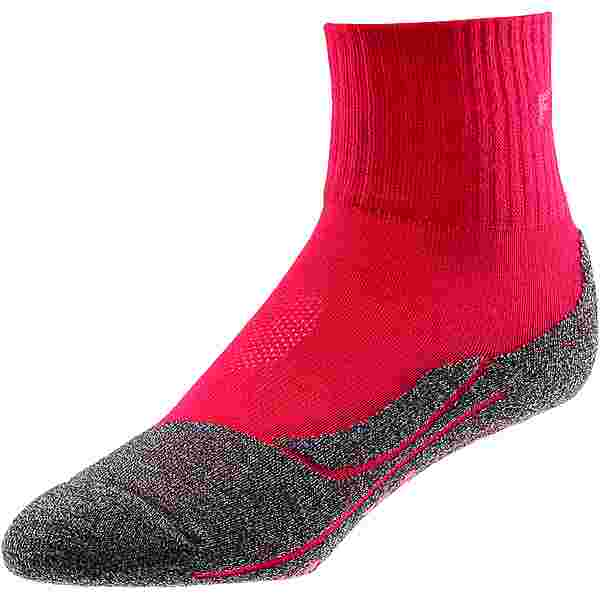Falke TK2 short cool Wandersocken Damen rose