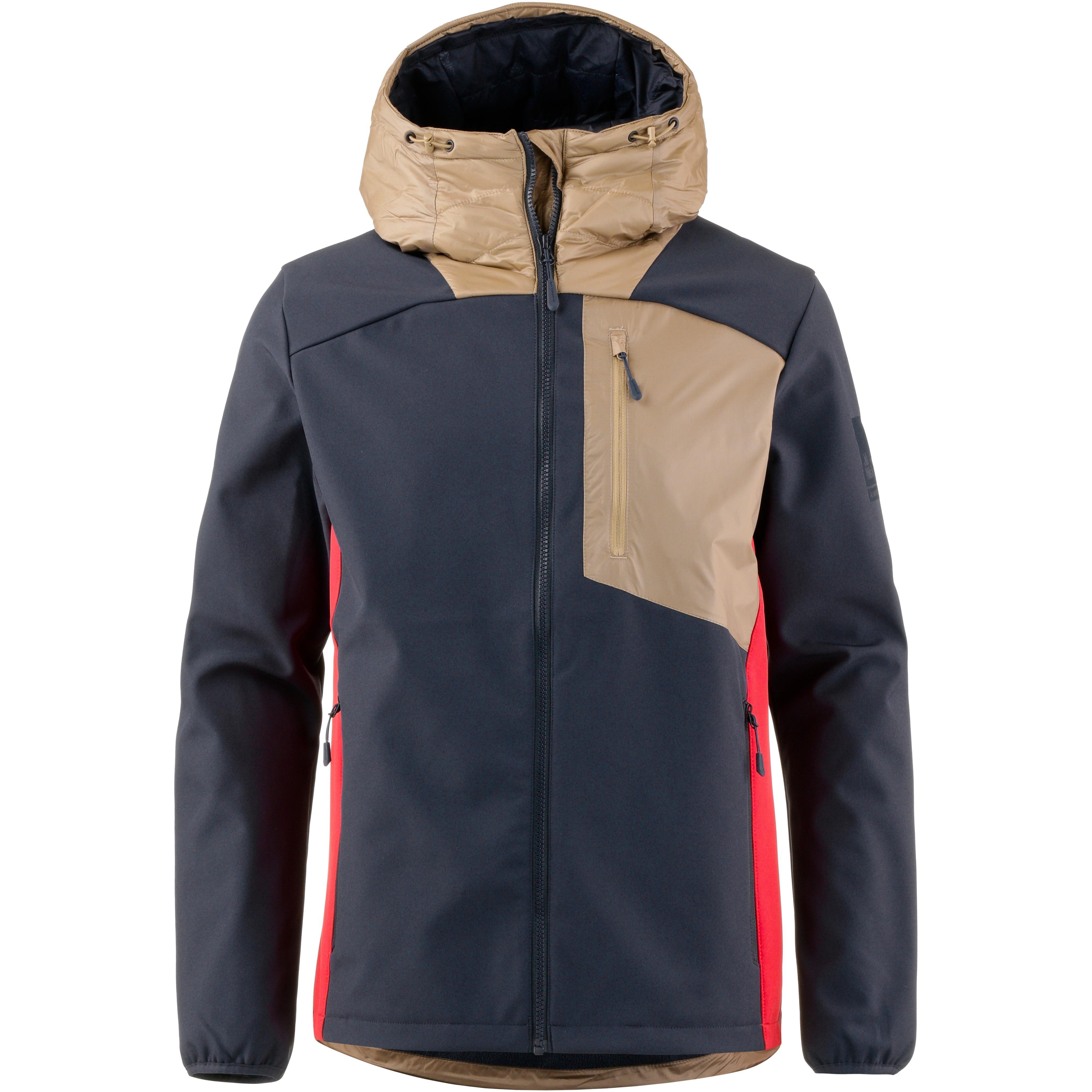 quality design 3cd1d 1e8d9 Jack Wolfskin 365 MILLENIUM Softshelljacke Herren night blue peak red im  Online Shop von SportScheck kaufen