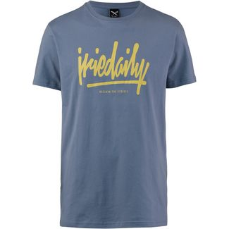 iriedaily Tagg Ahead T-Shirt Herren thunder blue