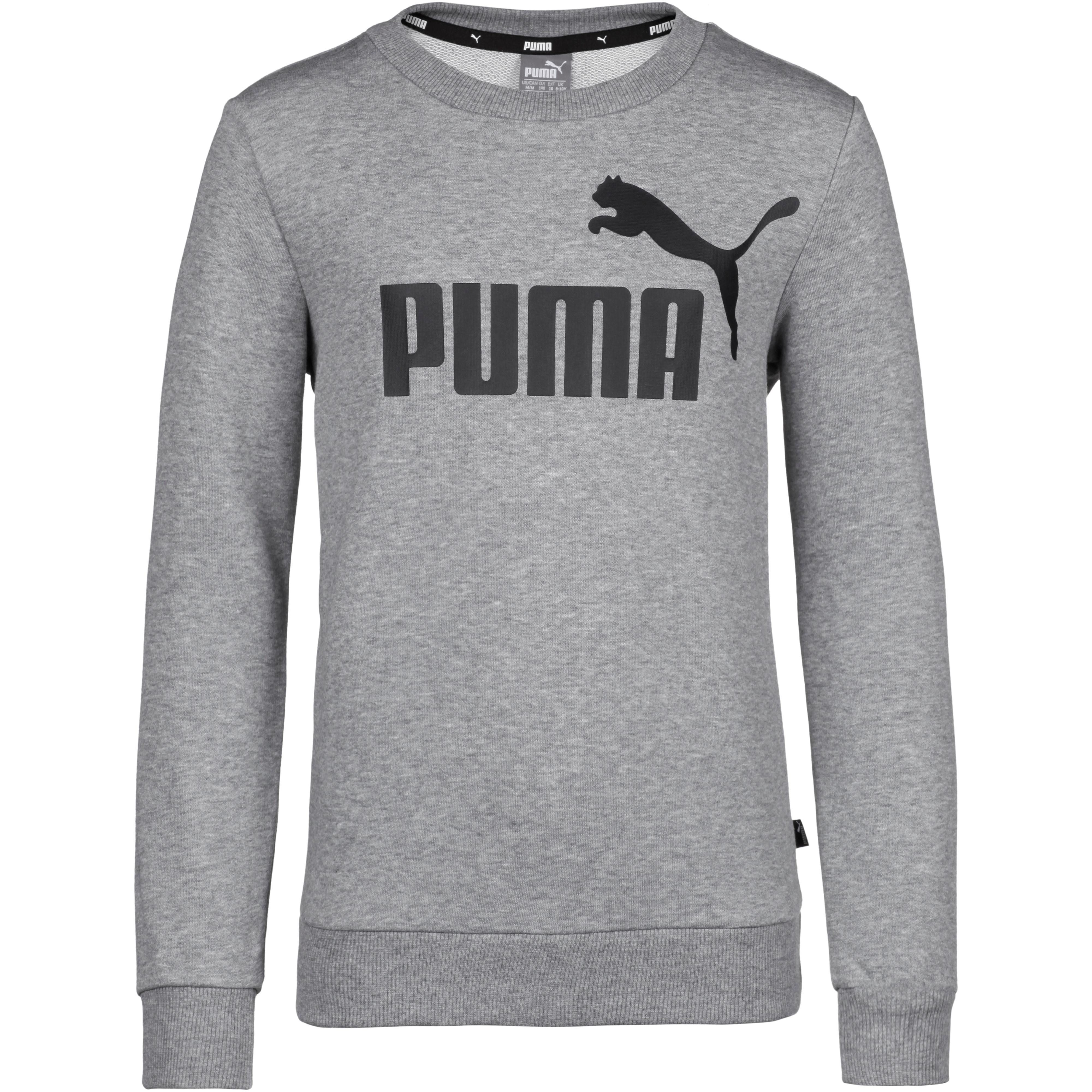PUMA Sweatshirt Jungen medium gray heather im Online Shop