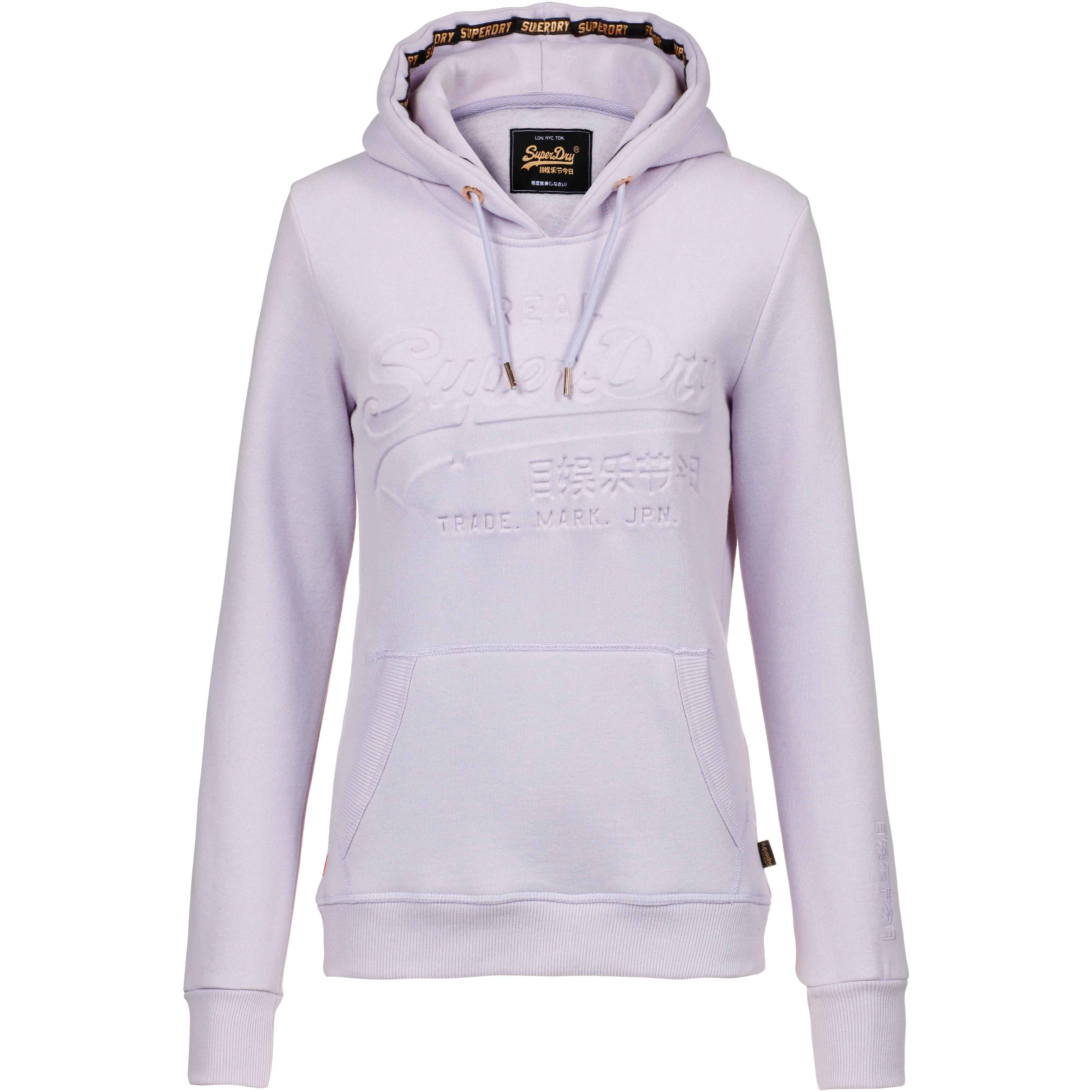 quality design d26a8 0e15d Superdry V Logo Hoodie Damen iris im Online Shop von SportScheck kaufen