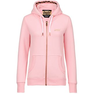 Superdry Orange Label Elite Sweatjacke Damen fade pink
