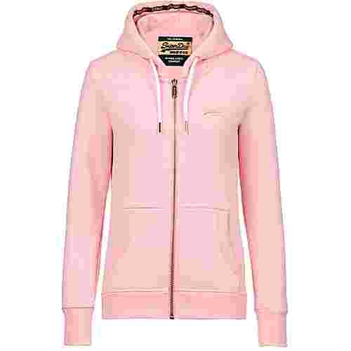 Superdry Orange Label Elite Sweatjacke Damen fade pink