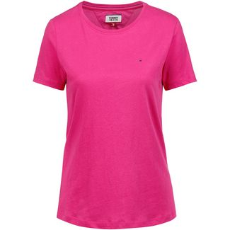 Tommy Jeans T-Shirt Damen fuchsia purple