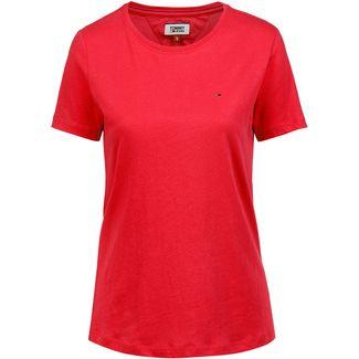 Tommy Jeans T-Shirt Damen flame scarlet