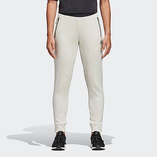 adidas ID Stadium Hose Sweathose Damen Raw White / Grey Six im Online Shop  von SportScheck kaufen