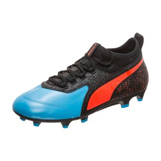 Puma ONE 19.4 MG Fußballschuhe schwarz blau rot günstig kaufen und bestellen im Shop von