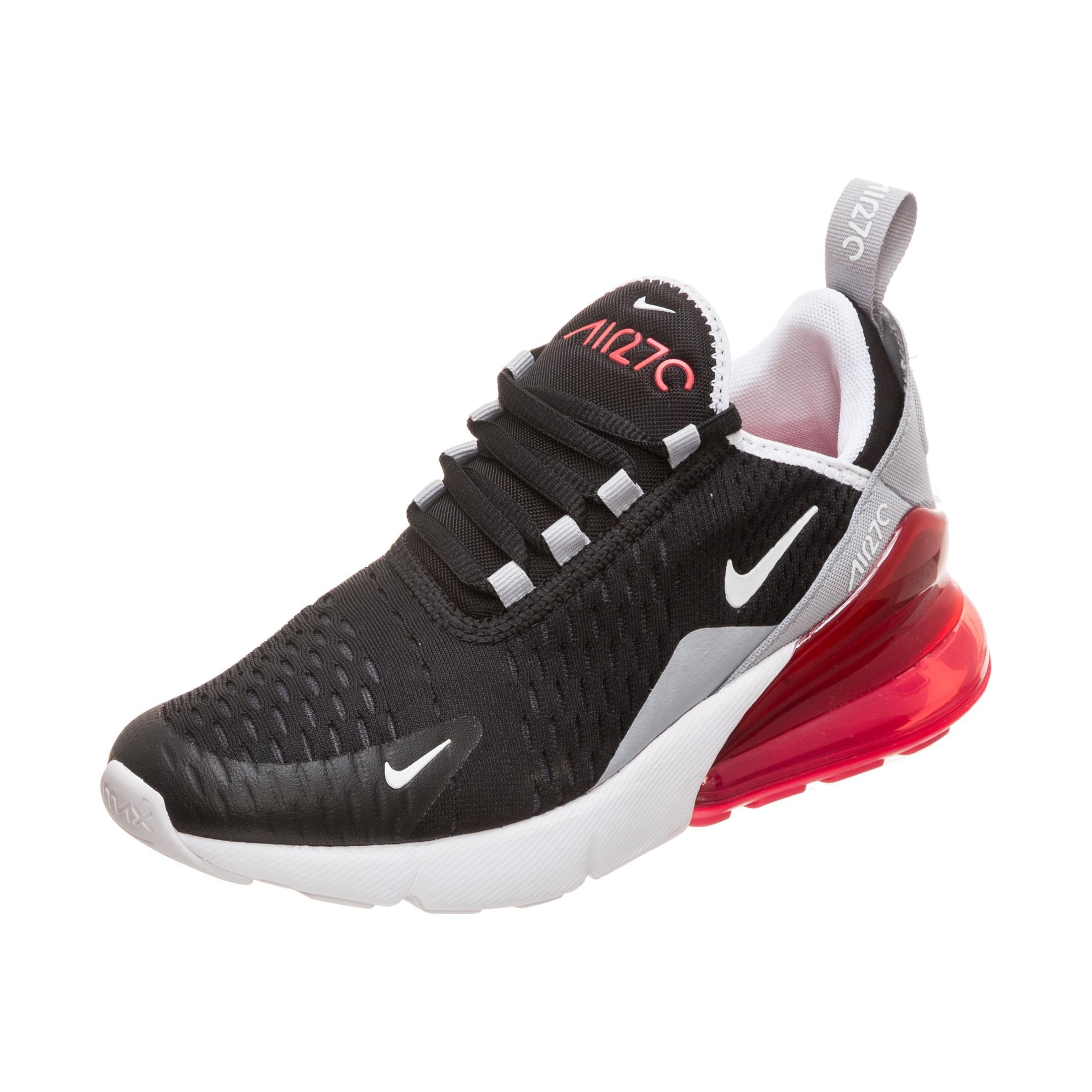 neue auswahl neueste kaufen heiß-verkaufender Fachmann Nike Air Max 270 Sneaker Jungen schwarz / rot im Online Shop von  SportScheck kaufen
